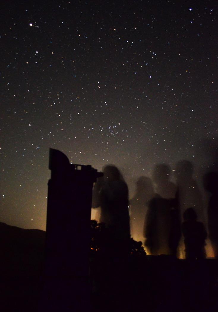 Βραδιές αστρονομίας με τηλεσκόπιο
